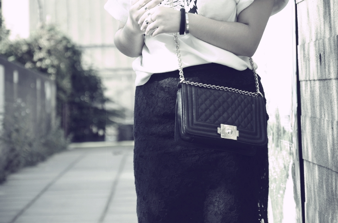 Classical Diamond Check Chain Handbag/Shoulder Bag [FPB248]- US$49.99 - PersunMall.com