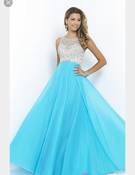 dress, lig, prom, prom dress, light blue, light blue dresses, baby ...