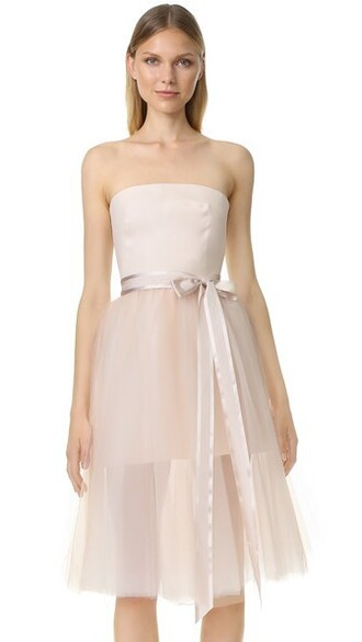 dress cocktail dress blush