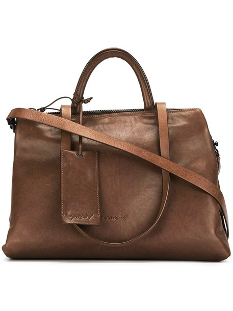 Marsèll women leather brown bag