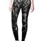 Stardust legging - black & white python – michi