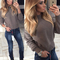 Women's fashionable knitted sweater top