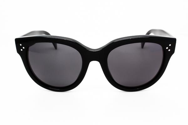 Celine CL 41755/S Audrey Polarized 807/3H Sunglasses Black | VisionDirect Australia