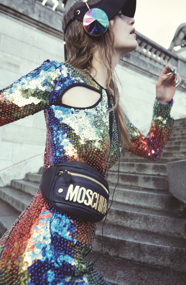 dress sequins bag