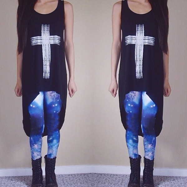 leggings galaxy leggings