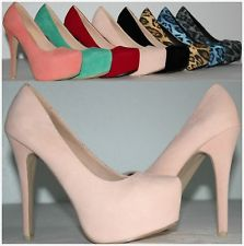 Brand NEW Women'S Fashion Sexy High Heel Stilettos Platform Pumps Fast Shipping | eBay