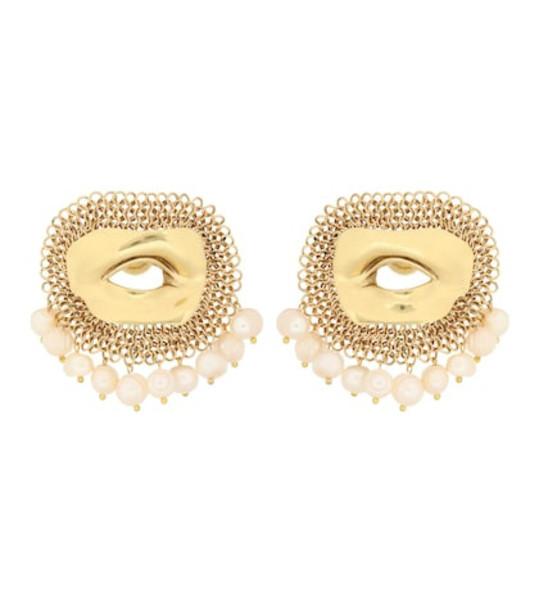 Ellery Pedigree XL Eye earrings in gold