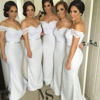 dress white maxi dress gown bridesmaid long dress white dress white long dress lace dress long bridesmaid dress bride dresses white dresses for brides bride dress lace bridesmaid dress bridesmaid dress long bridesmaid dress cheap formal dresses bridesmaid bridesmaid robes lace mermaid dress vintage lace bridesmaids dresses mermaid bridesmaids dresses sexy mermaid bridesmaid dress