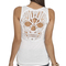 Skull crochet back tank | shop just arrived at wet seal