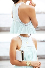 white blouse,sleeveless,bag,blouse,top,clothes,t-shirt,white,dress,tiffany blue blouse,mint,fowy,shirt,blue,teal
