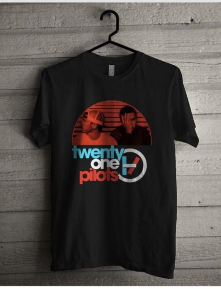 t-shirt twenty one pilots tyler joseph josh dun