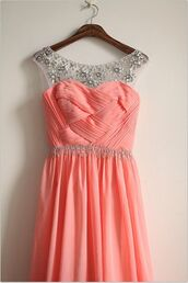 coral,fashion,prom dress,homecoming dress,coral dress,coral maxi skirt