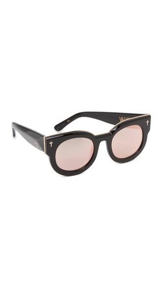 rose gold rose sunglasses mirrored sunglasses gold black