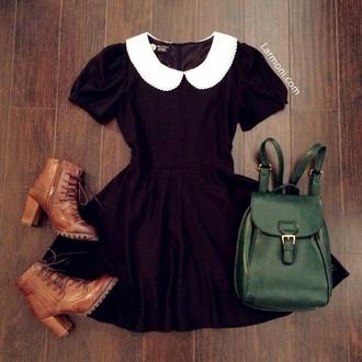 bag satchel bag leather bag vintage dress shoes collared dress preppy
