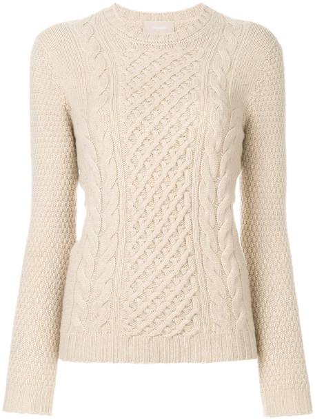 Drumohr jumper women nude wool knit sweater