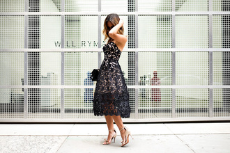 lace and locks blogger lace dress black dress cocktail dress