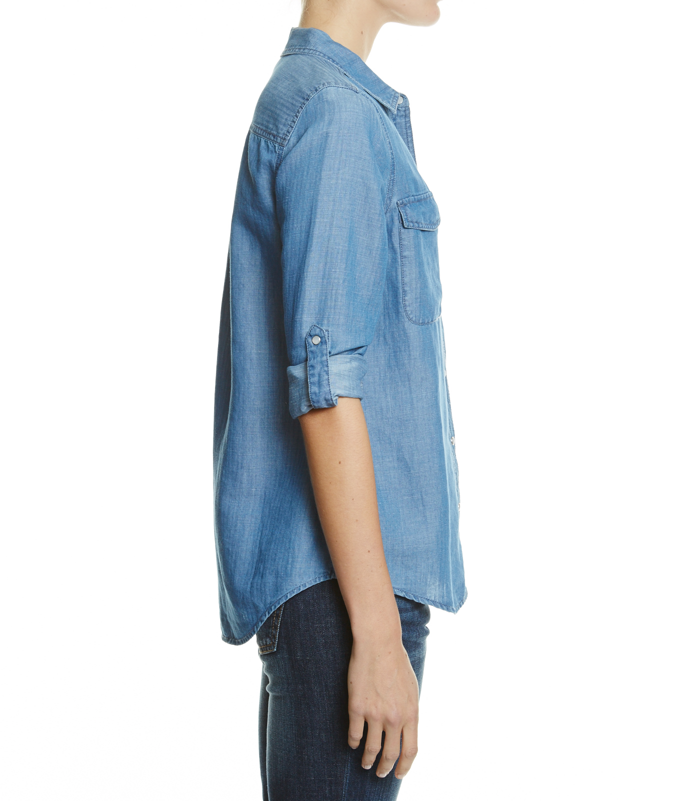 Denim Shirt - Denim On Denim - JAG Online Clothing