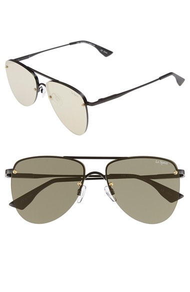 Le Specs The Prince 57mm Aviator Sunglasses   Nordstrom