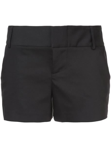 Alice+Olivia shorts women spandex cotton black