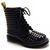 ROMWE | Riveted Black Martin Boots, The Latest Street Fashion