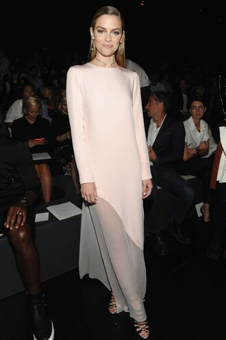dress maxi dress gown jaime king sandals fashion week