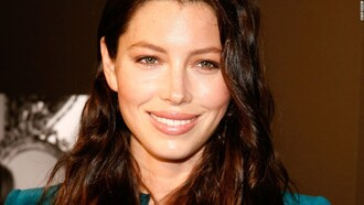 make-up no make-up look jessica biel celebrity actress brunette beautiful
