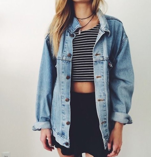 jacket denim jacket denim blue grunge grunge jean jacket shirt