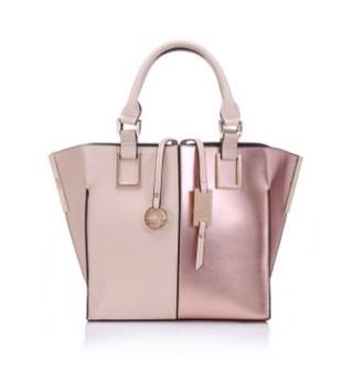 bag pink dress metallic shiny girly pretty handbag love want love cute dusty pink