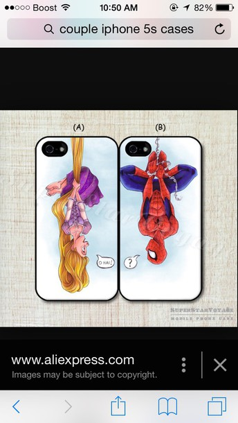 phone cover phone cover spider-man upside down couple