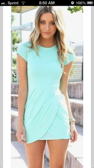 dress blue sky blue tight dress miniskirt summer cotton plain shoes beautiful baby blue mint dress summer dress blue dress short sleeve dress tiffany blue dress pretty summer turquoise dress turquoise draped dress mini dress cute light blue baby blue aqua