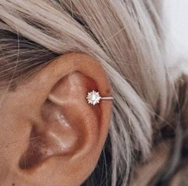 Jewels Piercing Earpiercing Earrings Minimalist