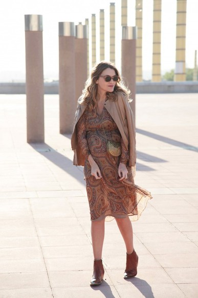 my daily style jacket bag shoes sunglasses dress