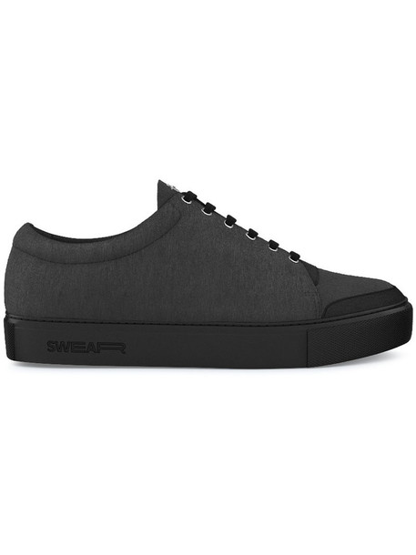 SWEAR women sneakers leather suede black shoes