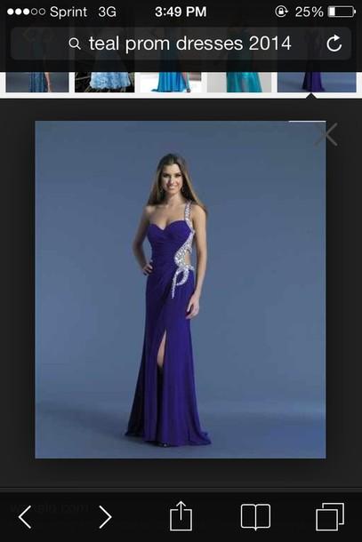 dress prom dress purple dress
