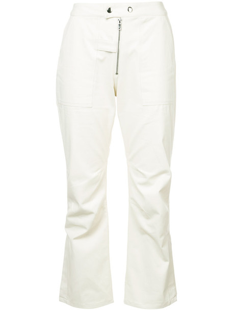 NOMIA cropped women nude cotton pants