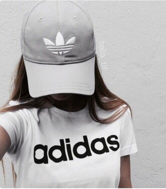 hat adidas cap grey grey cap adidas originals white logo