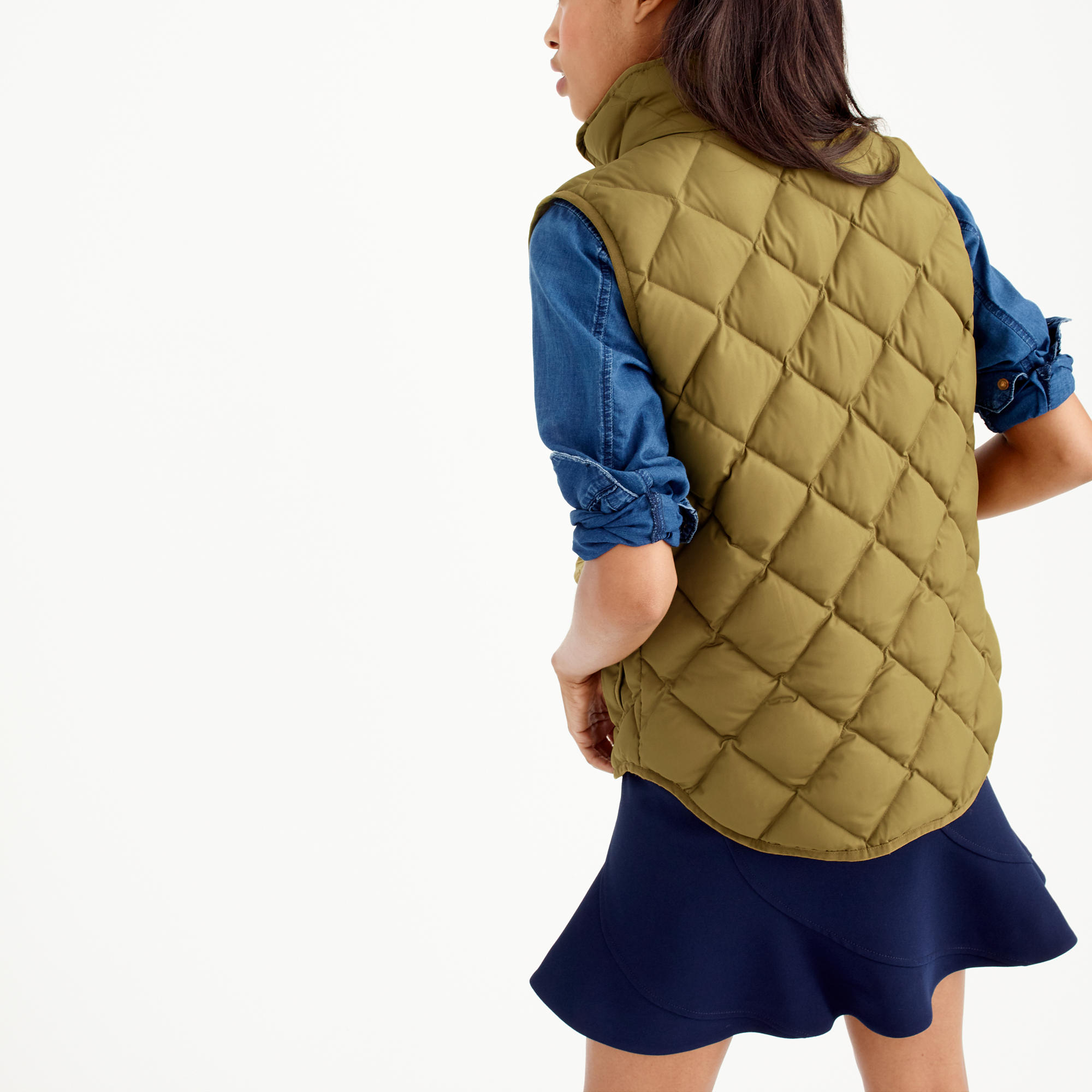 vest quilt excursion green quilted down i link