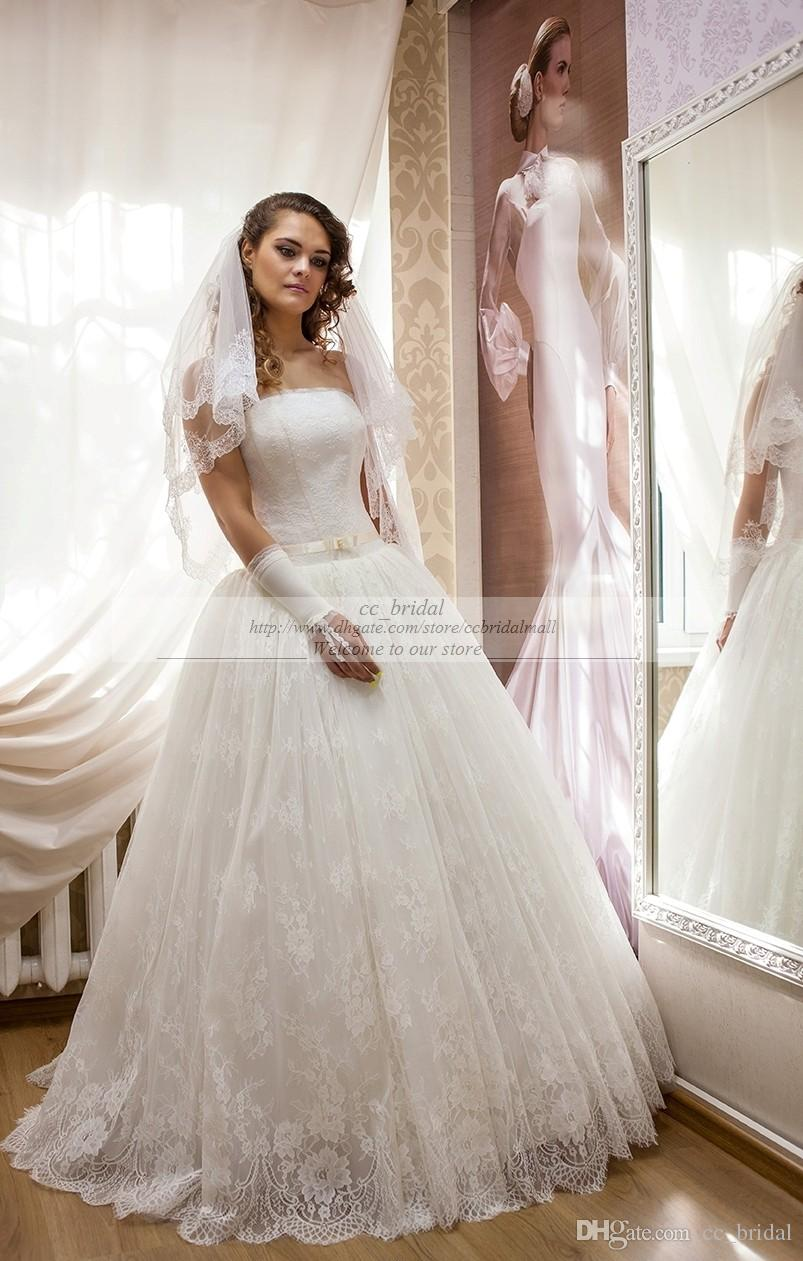 Strapless Bustier for Wedding Dress - Dress images