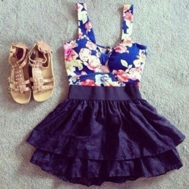 dress short hipster vintage fashion