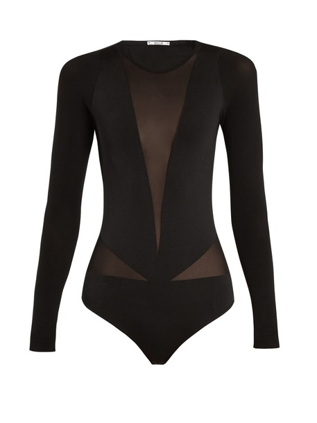 Wolford body black underwear