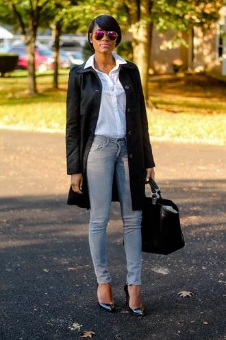 the daileigh t-shirt coat pants bag sunglasses shoes