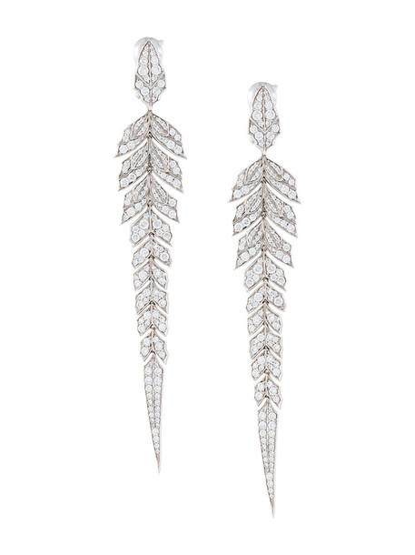 Stephen Webster women earrings gold grey jewels