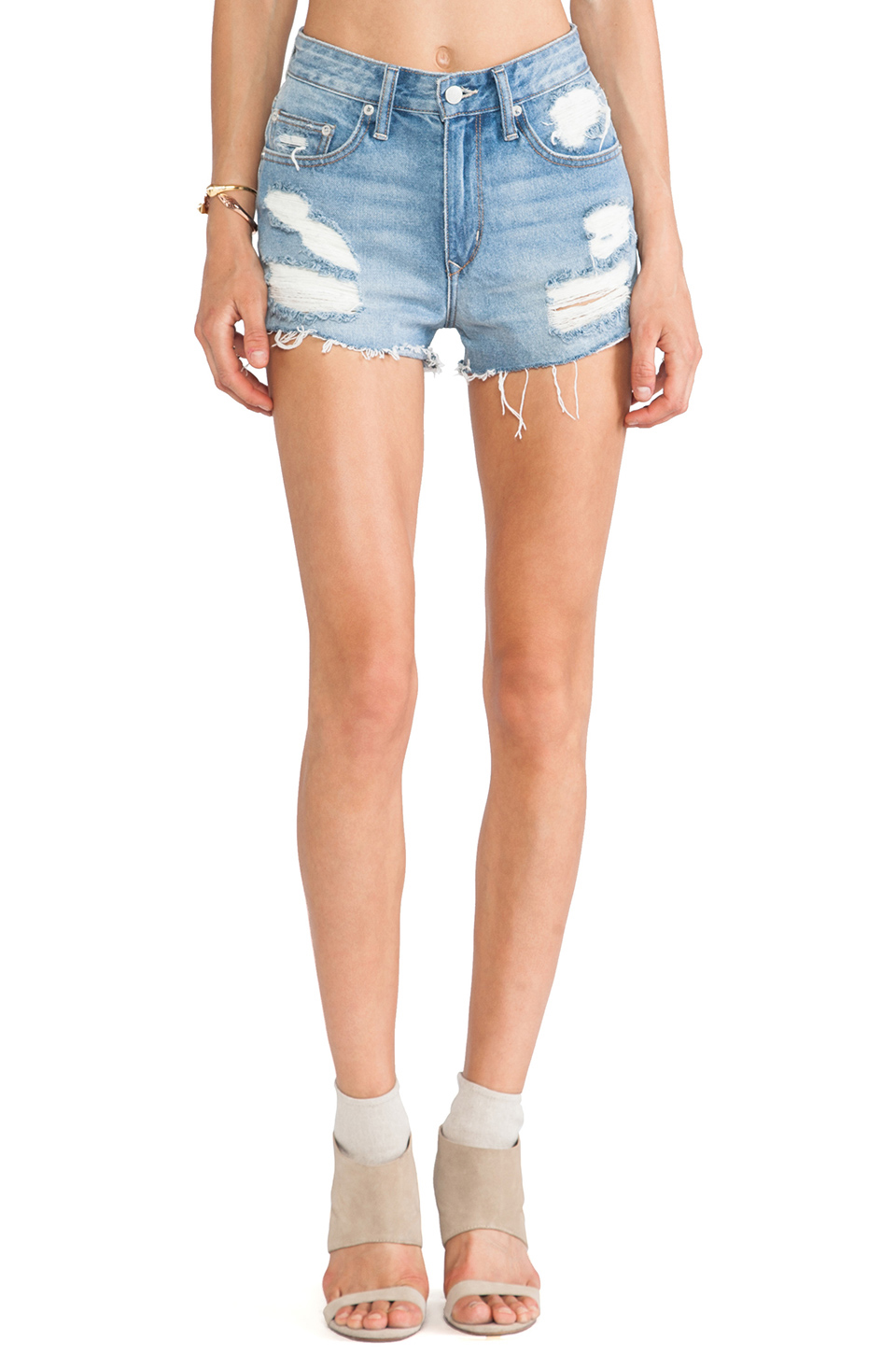 Lovers   Friends Jack High Short in Westerly Wash | REVOLVE