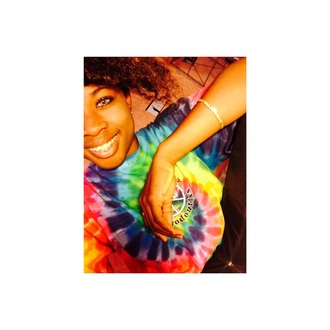 tshirt tye dye shirt color/pattern vintage tie dye