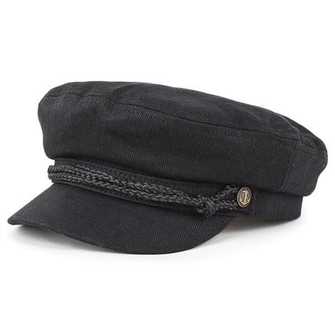 Brixton Hats Fiddler Cap - Black