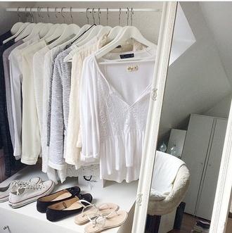 blouse white white top like white t-shirt white dress white blouse