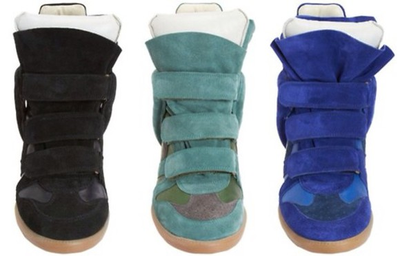 shoes isabel marant sneaker wedges
