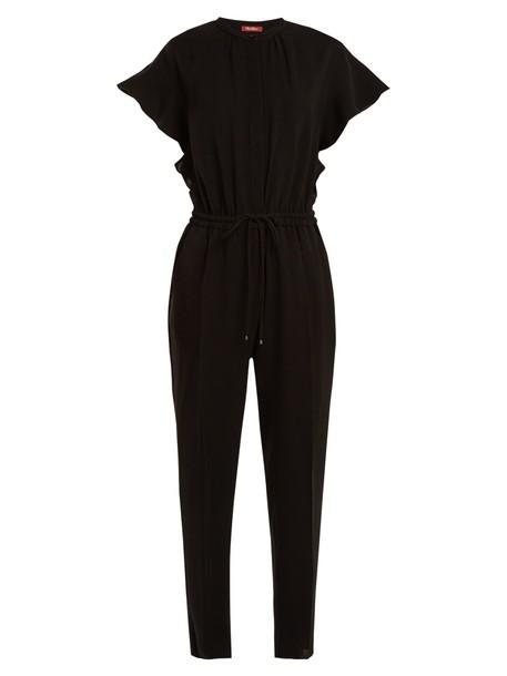 Max Mara Studio jumpsuit black