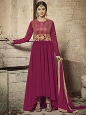 dress,krystle dsouza,bollywood anarkali suit,anarkali salwar kameez,ethnic wear,women wear,partywear,designer wear