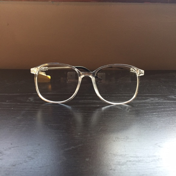 Glasses Frames Urban Outfitters : Urban Outfitters - NEW Clear Frame Hipster Glasses (last ...